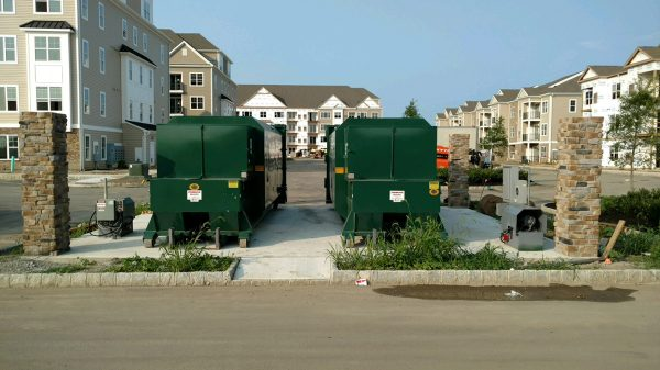 Residential-Exterior-Compactor (Trash & Recycling)